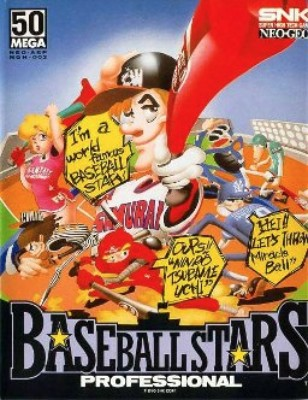 Baseball Stars Professional Cover Art