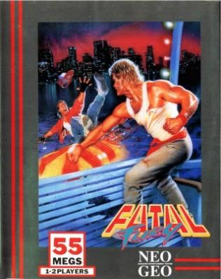 Fatal Fury Cover Art