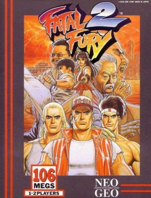 Fatal Fury 2 Cover Art