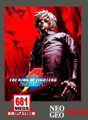 King of Fighters 2001 Cover Art