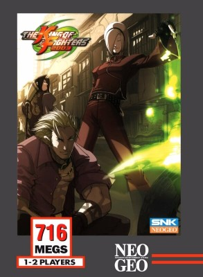 King of Fighters 2003 Cover Art