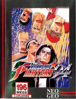 King of Fighters '94 Cover Art