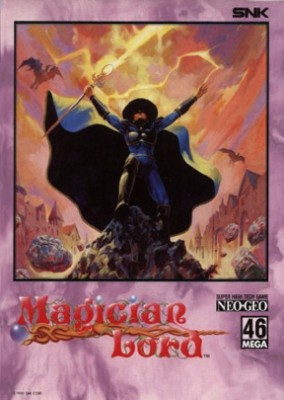 Magician Lord Cover Art