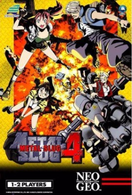 Metal Slug 4 Cover Art