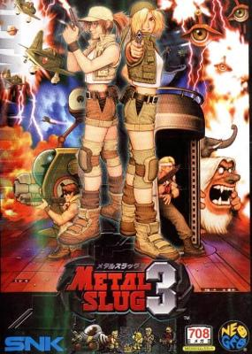 Metal Slug 3 [Japanese] Cover Art