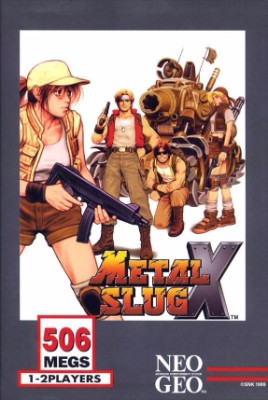 Metal Slug X Cover Art