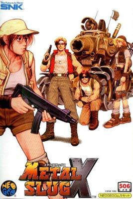 Metal Slug X [Japanese] Cover Art