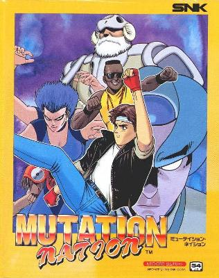 Mutation Nation [Japanese] Cover Art
