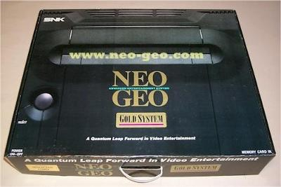 Neo Geo AES Gold  Cover Art