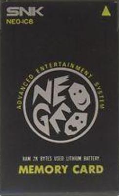Neo Geo Memory Card Cover Art