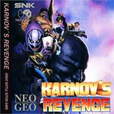 Karnov's Revenge Cover Art