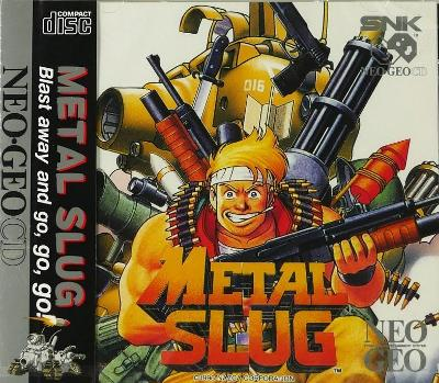 Metal Slug Cover Art
