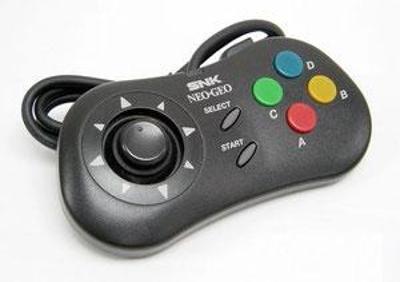 Neo Geo CD Pad Cover Art