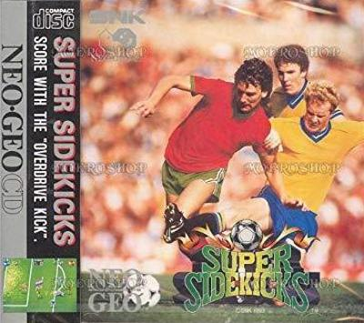 Super Sidekicks Cover Art
