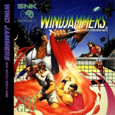 Windjammers Cover Art