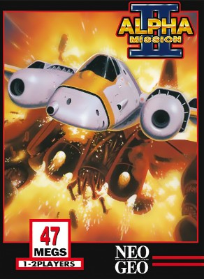Alpha Mission II Cover Art