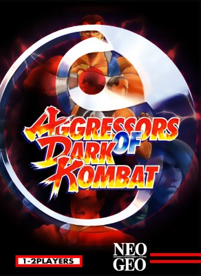 Aggressors of Dark Kombat Cover Art