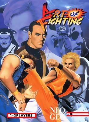 Art of Fighting Cover Art