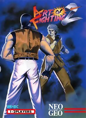 Art of Fighting 2 Cover Art