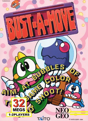 Bust-A-Move Cover Art
