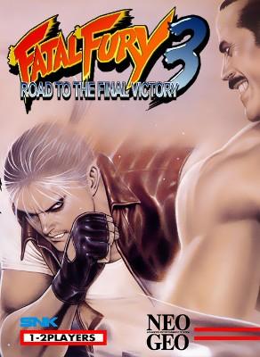Fatal Fury 3 Cover Art