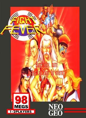 Fight Fever Cover Art