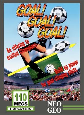 Goal! Goal! Goal! Cover Art