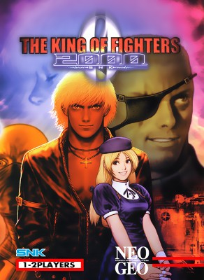 King of Fighters 2000 Cover Art