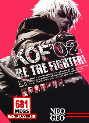 King of Fighters 2002 Cover Art
