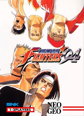 King of Fighters `94 Cover Art