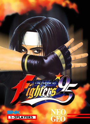King of Fighters `95 Cover Art