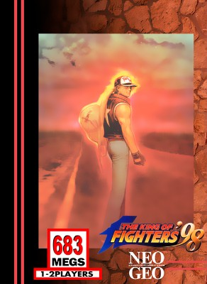 King of Fighters `98 Cover Art