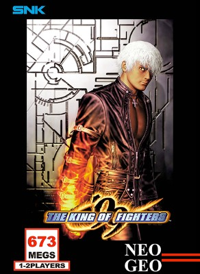 King of Fighters `99 Cover Art
