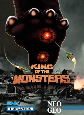 King of the Monsters Cover Art