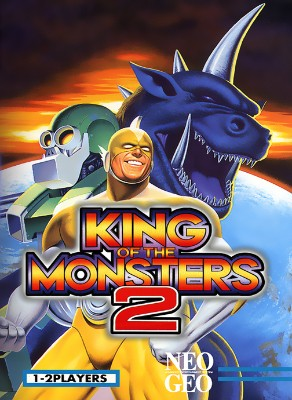 King of the Monsters 2 Cover Art