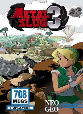 Metal Slug 3 Cover Art