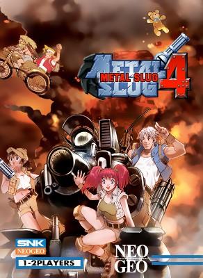 Metal Slug 4 Cover Art
