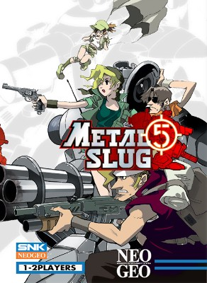 Metal Slug 5 Cover Art