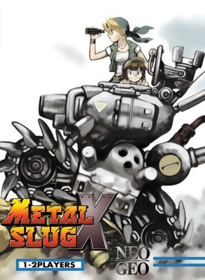 Metal Slug X Cover Art