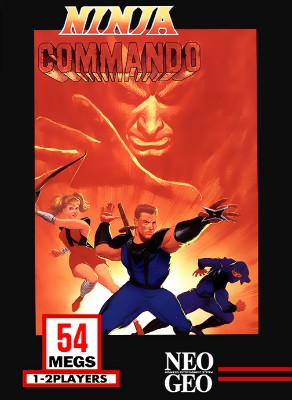 Ninja Commando Cover Art