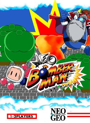Neo Bomberman Cover Art