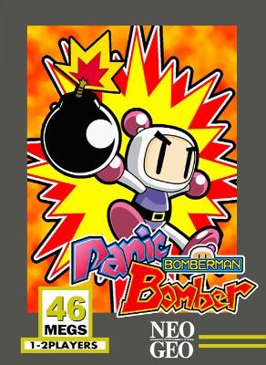 Panic Bomber Cover Art