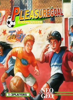 Pleasure Goal: 5 on 5 Street Soccer Cover Art