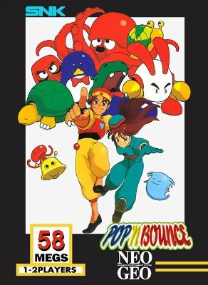 Pop 'N Bounce Cover Art