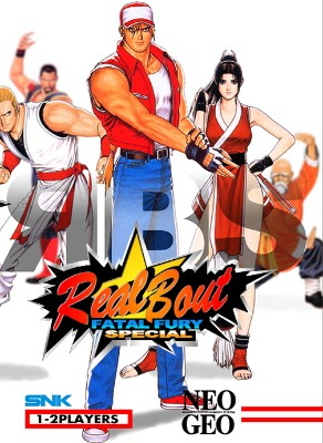 Real Bout Fatal Fury Special Cover Art