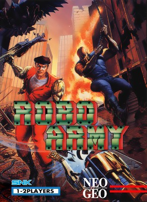 Robo Army Cover Art
