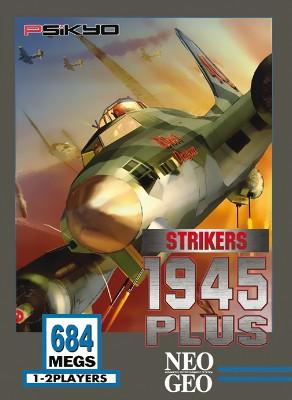 Strikers 1945 Plus Cover Art