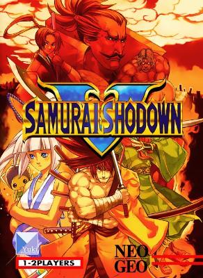 Samurai Shodown V Cover Art