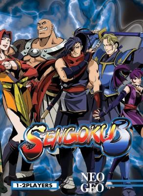 Sengoku 3 Cover Art