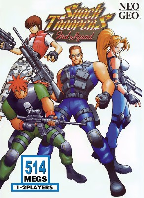 Shock Troopers 2nd Squad Cover Art